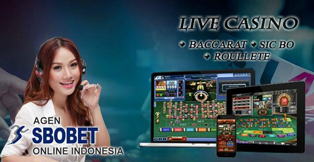 Casino online sbobet yang banyak dimainkan